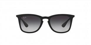Ray-Ban 4221S 06228G 50 عینک آفتابی ریبن مدل 4221 دودی با فریم مربعی مناسب خانم ها و آقایان