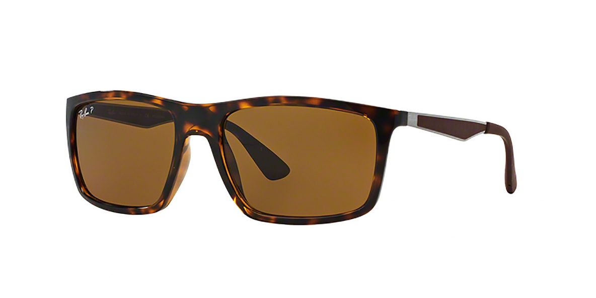 RayBan 4228S 071083 58عینک آفتابی ریبن مدل 4228 عدسی پلاریزه قهوه ای مناسب آقایان