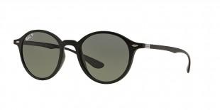 RayBan 4237S 6مناسب خانم ها و آقایان عینک آفتابی گرد ریبن مدل 4237 عدسی پلاریزه سبز