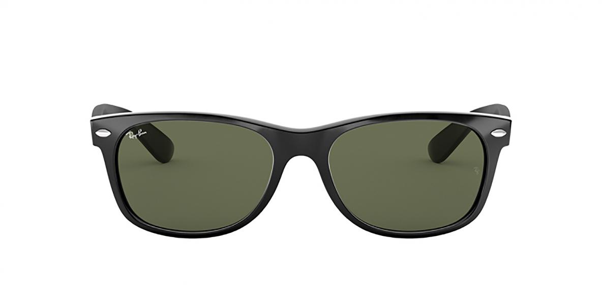 RayBan Sunglass 2132S 000901 52عینک آفتابی ریبن ویفرر با عدسی سبز