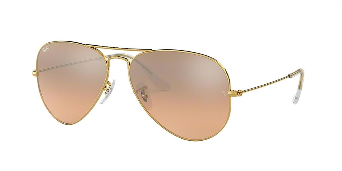 Ray-Ban 3025S 00013E 58 عینک آفتابی ریبن مردانه زنانه خلبانی