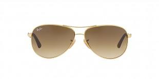 Ray-Ban 8313S 000151 58 عینک آفتابی مردانه زنانه ریبن خلبانی
