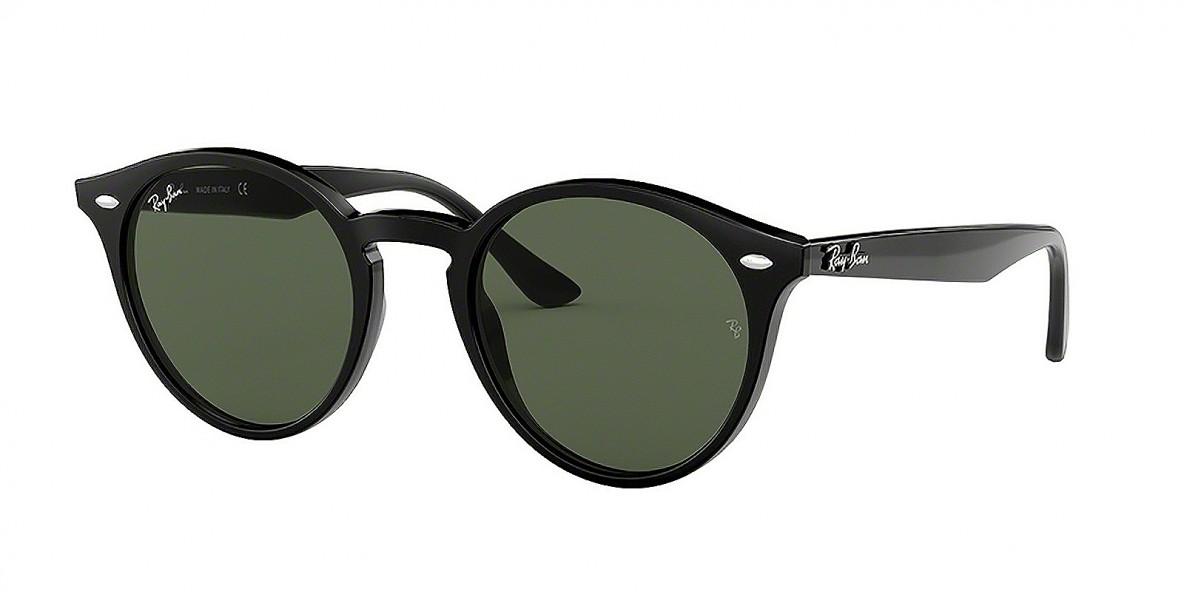 Ray-Ban 2180S 060171 51 عینک آفتابی زنانه مردانه ریبن گرد