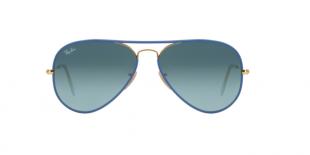 RayBan 3025JM 00014M 58 عینک آفتابی زنانه مردانه ریبن خلبانی