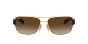 RayBan 3522S 000113 عینک آفتابی مردانه ریبن مستطیلی
