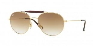 Ray-Ban 3540S 000151 53 عینک آفتابی زنانه مردانه ریبن گرد