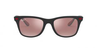 Ray-Ban 4195M F602H2 52 عینک آفتابی مردانه ریبن مربعی