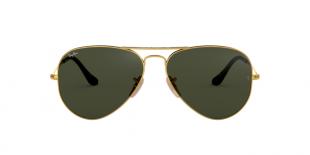 Ray-Ban RB3025 181 58 عینک آفتابی زنانه مردانه ریبن خلبانی