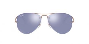 Ray-Ban 3449S 90351U 59 عینک آفتابی زنانه مردانه ریبن خلبانی