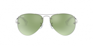 Ray-Ban 3449S 904330 59 عینک آفتابی زنانه مردانه ریبن خلبانی