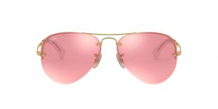 Ray-Ban 3449S 0001E4 59 عینک آفتابی زنانه مردانه ریبن خلبانی