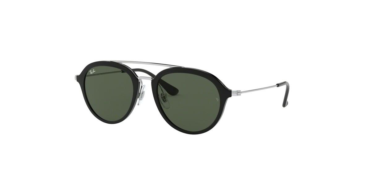 Ray-Ban 9065S 010071 48 عینک آفتابی دخترانه و پسرانه ریبن گرد