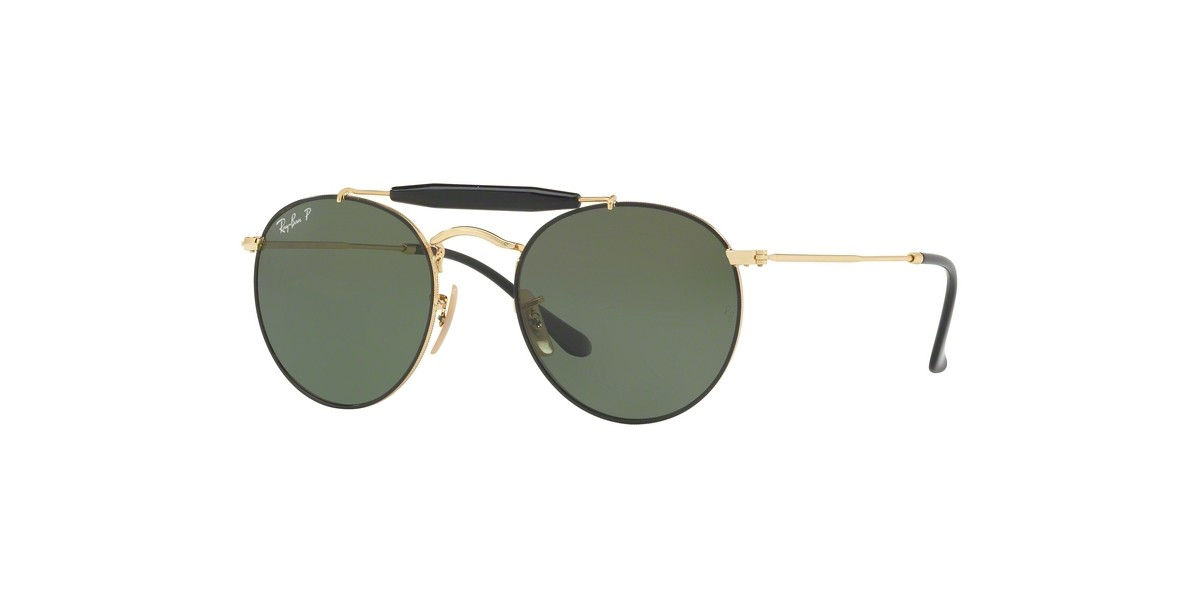Ray-Ban 3747S 900058 50 عینک آفتابی زنانه مردانه ریبن گرد