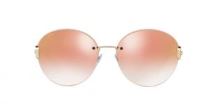 Bvlgari Sunglass 6091B 20146F 61عینک آفتابی زنانه بولگاری گرد