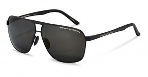 PorscheDesign P8665 A 63عینک آفتابی مردانه پورشه دیزاین مستطیلی