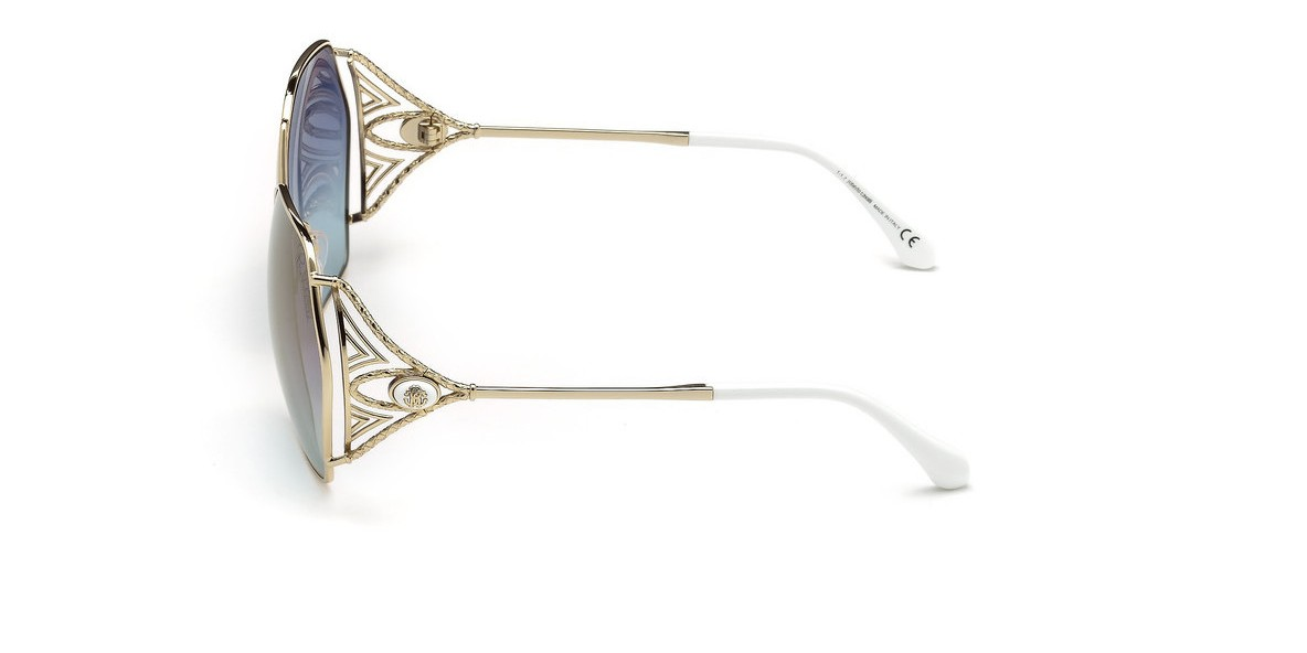 RobertoCavalli RC1056 32X 63عینک آفتابی زنانه روبرتو کاوالی شش ضلعی