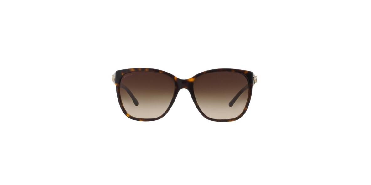 Bvlgari Sunglass 8136B 050413 57عینک آفتابی زنانه بولگاری مربعی