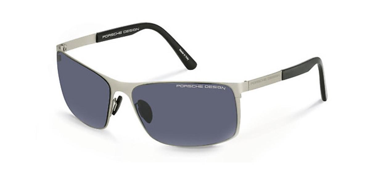 PorscheDesign Sunglass 8566 C 64عینک آفتابی مردانه پورشه مستطیلی