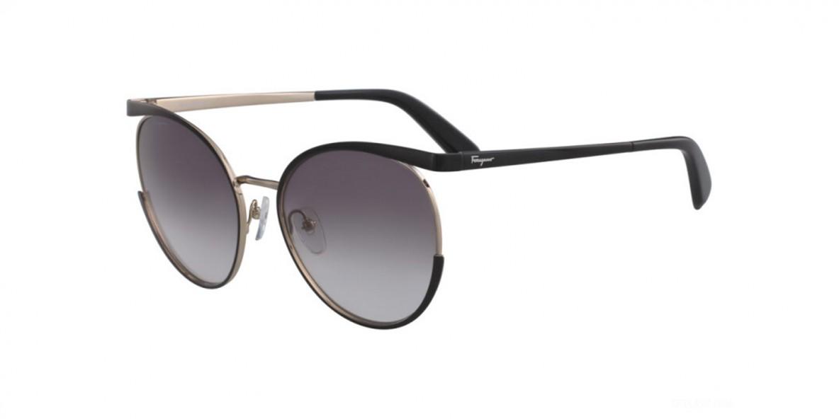 Salvatore ferragamo SF165S 017 58 عینک آفتابی زنانه سالواتوره فراگامو گرد