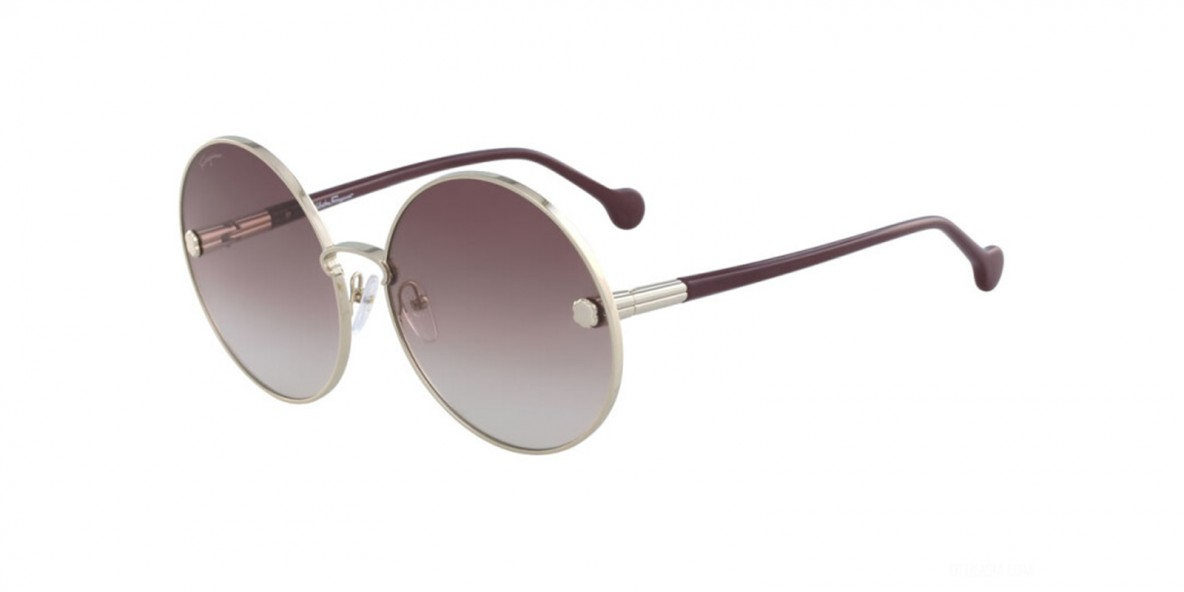 Salvatore Ferragamo SF189 742 63 عینک آفتابی زنانه سالواتوره فراگامو گرد