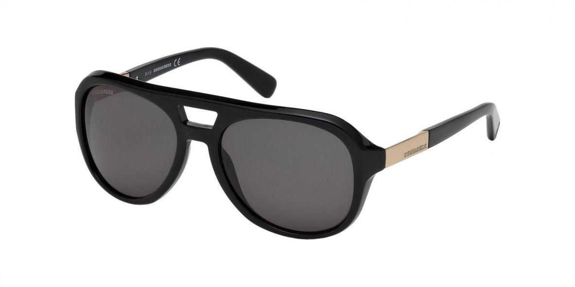 Dsquared2 DQ0237 01B عینک آفتابی مردانه دسکوارد