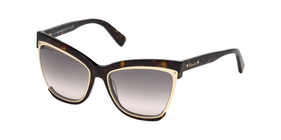 Dsquared2 DQ241 52F عینک آفتابی زنانه دسکوارد