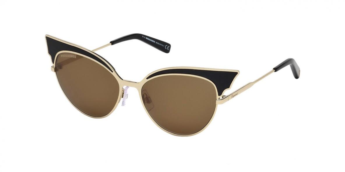 Dsquared2 DQ0166 01J عینک آفتابی زنانه دسکوارد