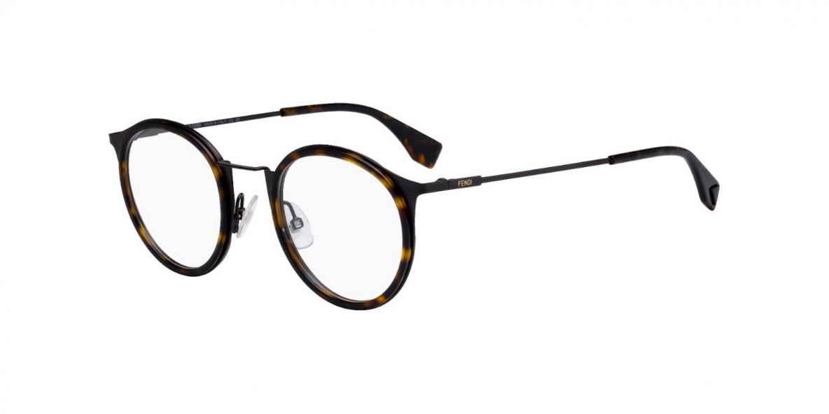 Fendi FFM0023 086 عینک طبی مردانه زنانه فندی