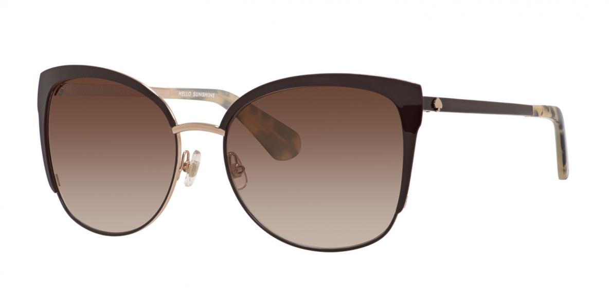 KateSpade Sunglass Genice GSAB1 57 عینک آفتابی زنانه کیت اسپید پروانه ای
