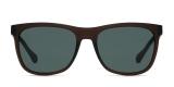 Boss Sunglass 868 05A-85 55عینک آفتابی مردانه هوگو باس مستطیلی