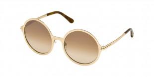 Tom Ford FT0572 28G عینک آفتابی زنانه تام فورد گرد