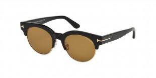 TomFord Sunglass 598 01E عینک آفتابی زنانه مردانه گرد تام فورد