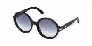 Tom Ford FT0369 01B عینک آفتابی زنانه تام فورد گرد