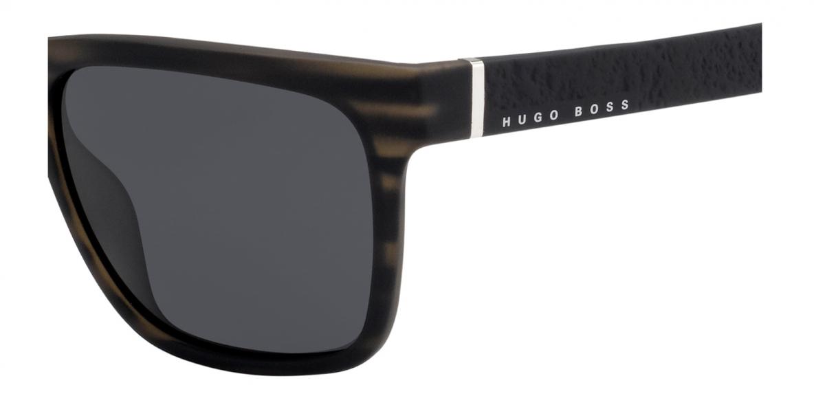 Boss Sunglass 918 2Q5-IR 56عینک آفتابی مردانه هوگوباس مستطیلی