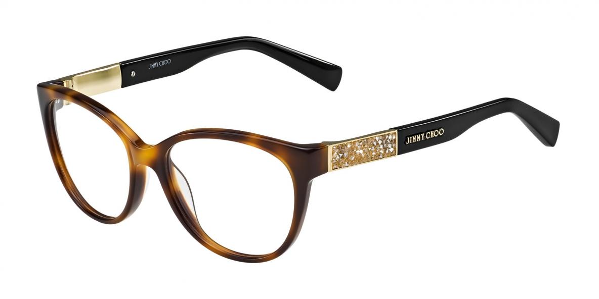 JimmyChoo JC107 6VL16 52 عینک طبی جیمی چو مدل جی سی ۱۰۷ مناسب برای خانم ها