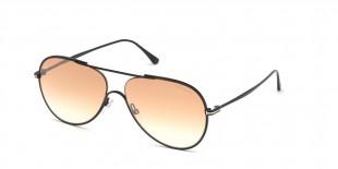 TomFord Sunglass FT0695 01F عینک آفتابی مردانه زنانه تام فورد خلبانی