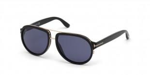 TomFord Sunglass FT0779 01V عینک آفتابی مردانه تام فورد خلبانی