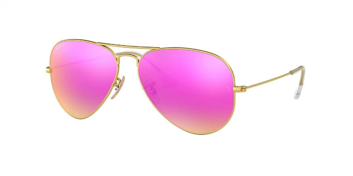 Ray-Ban 3025 1121Q 58 عینک آفتابی مردانه زنانه ریبن خلبانی