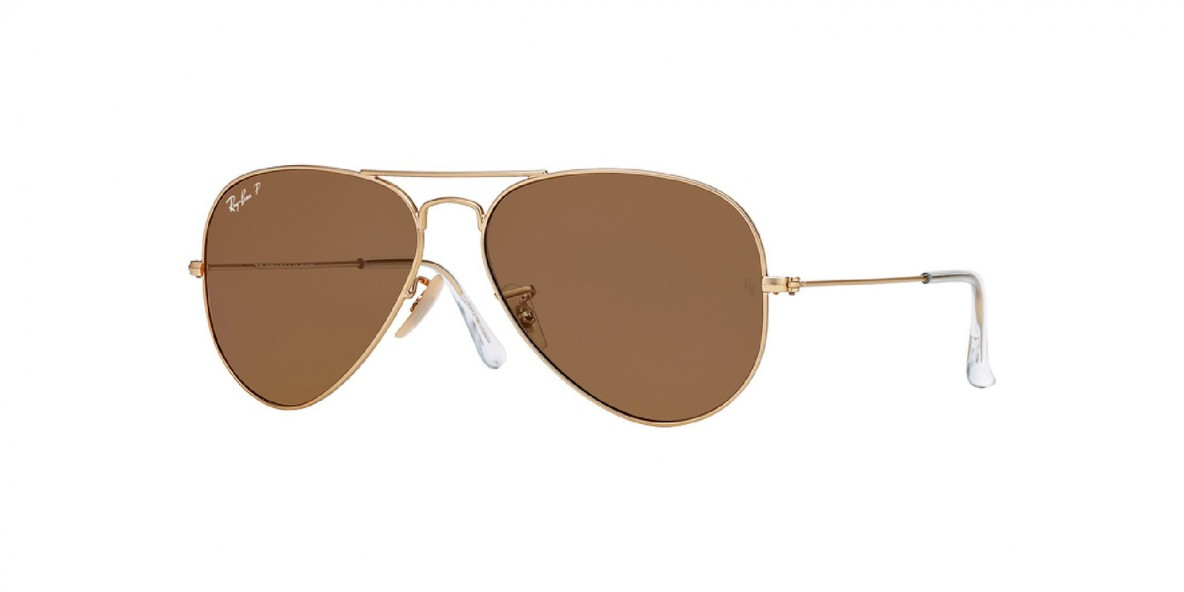 Ray-Ban 3025S 0112O6 58 عینک آفتابی زنانه مردانه ریبن خلبانی