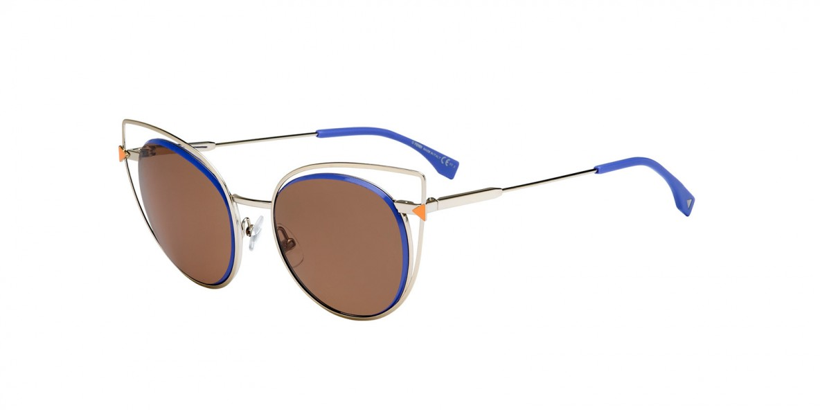 Fendi Sunglass 0176 3YGUT 53 عینک آفتابی زنانه برند فندی