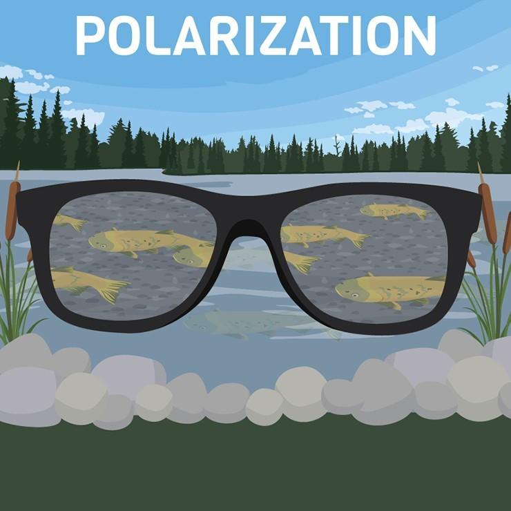 عینک آفتابی پلاریزه