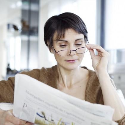 چه اتفاقی در چهل سالگی برای چشم ها میافتد؟