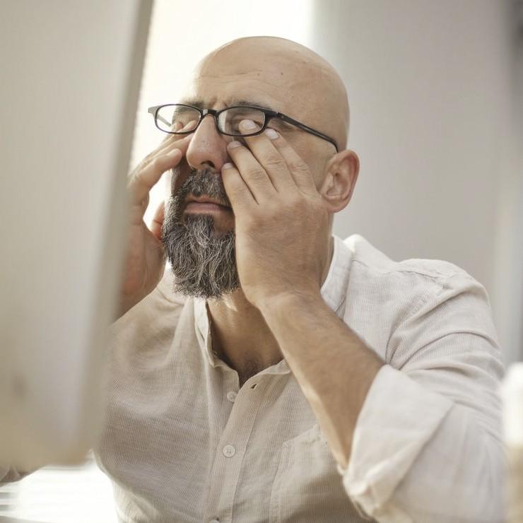 کاهش خستگی چشم