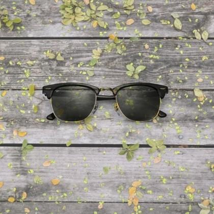عدسی رنگی برای عینک آفتابی در فصل پاییز